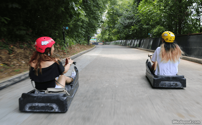 Skyline Luge Sentosa Review