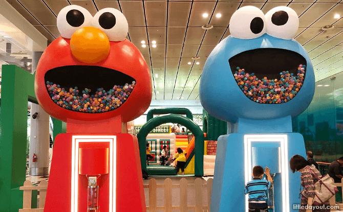 Gachopon Machines, Changi Airport Terminal 3, March School Holidays 2018