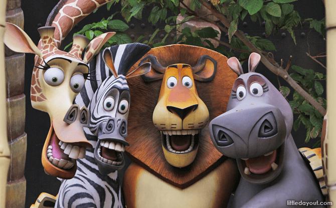 Madagascar: A Crate Adventure - Universal Studios Singapore Rides
