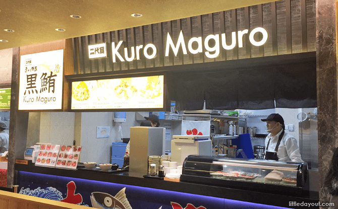 Kuro Maguo, SORA Japanese Food Court