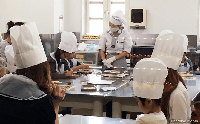 Cookiecraft Studio, Ishiya Chocolate Factory & Shiroi Koibito Park, Sapporo, Hokkaido, Japan
