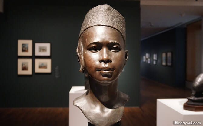 Malay Boy by William G. Stirling at the National Gallery Singapore
