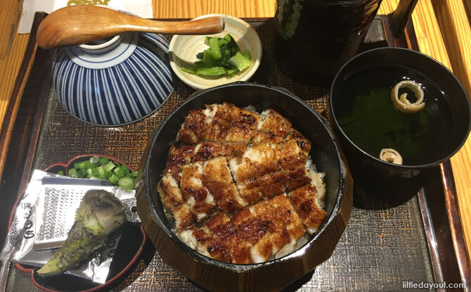 Man Man Unagi Restaurant: Japanese Eel Restaurant At Keong Siak Road