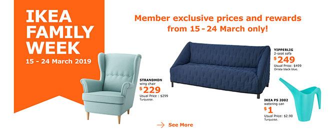 IKEA Family Week Promotions