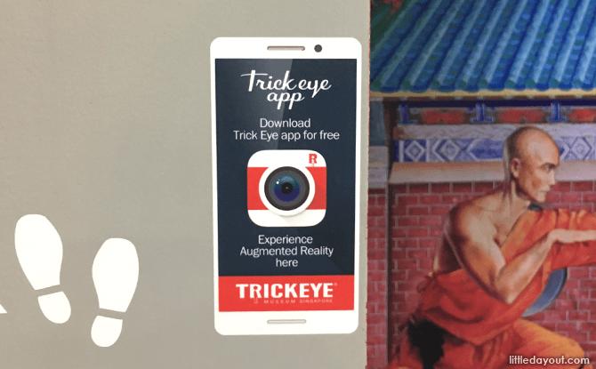 Trick Eye App Marker