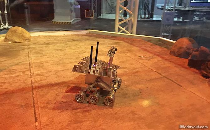 e mars rover