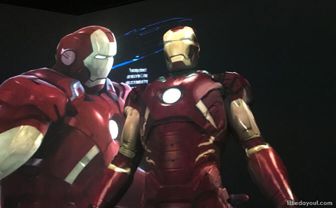 Marvel Exhibition in Singapore - Marvel Studios: Ten Years of Heroes at the ArtScience Museum