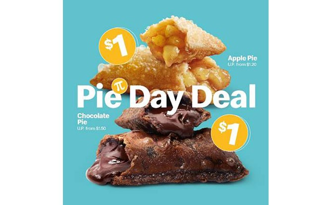 McDonald's Pie Day