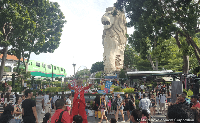 Sentosa Merlion [Closed]