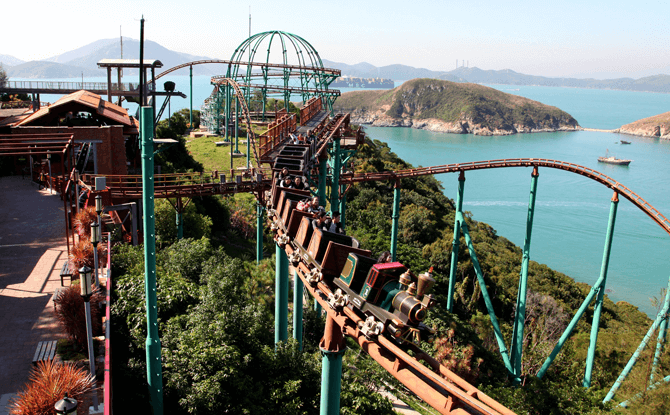 Mine Train, Ocean Park Hong Kong