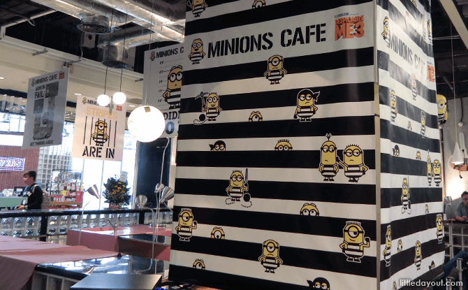 Minions Cafe, Orchard Central