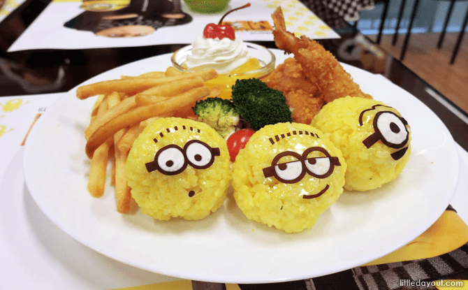 The Minions Cafe, Orchard Central
