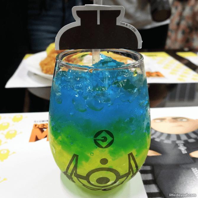 Upside-down Minions Drink
