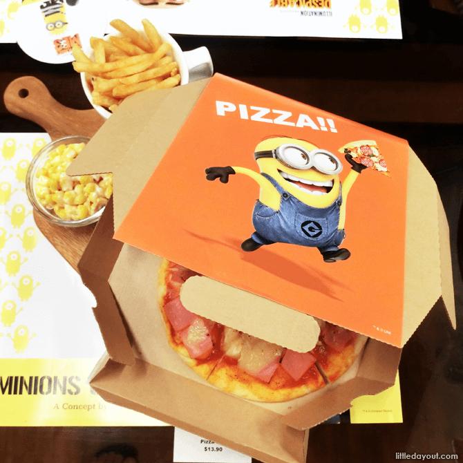 Minions Pizza