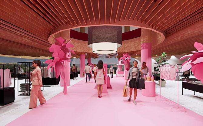 Museum of Ice Cream retail showcase