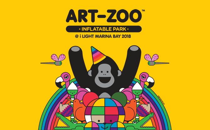 Art-Zoo Inflatable Park @ i Light Marina Bay 2018