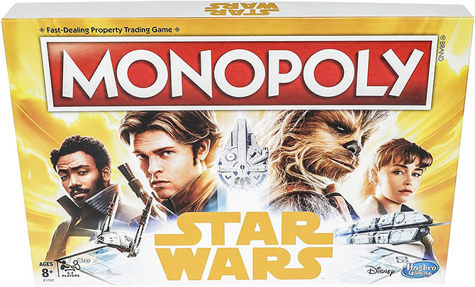 Monopoly: Star Wars Edition Board Game