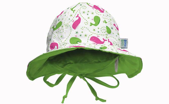 My Swim Baby Swim Hat - Wlma the whale