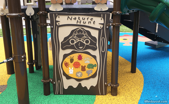 Nature hunt activity panel