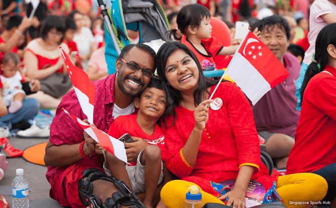 Sports Hub National Day Fiesta