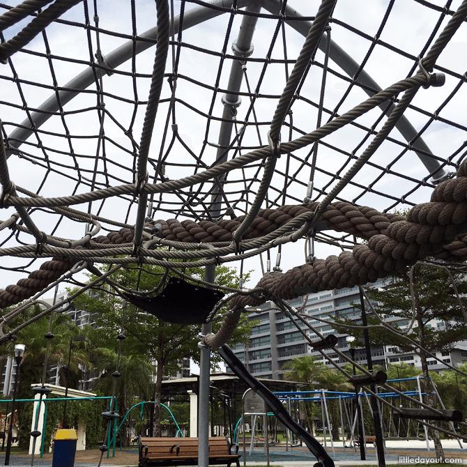 Climbing Net at Canberra Park