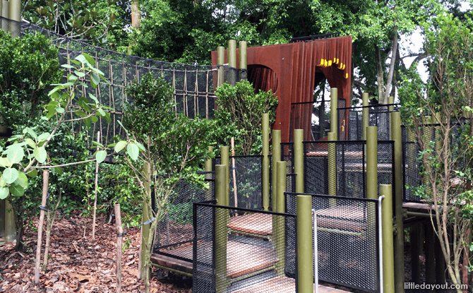 New Treehouse at Jacob Ballas Children's Garden extension