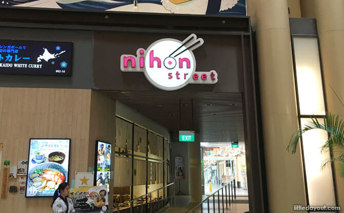 Nihon Food Street at Millenia Walk