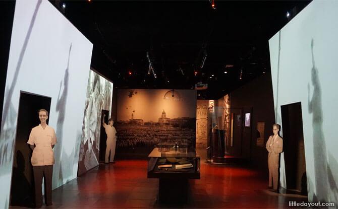 Political awakening, National Museum of Singapore