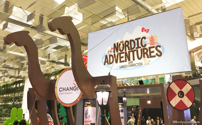 Nordic Adventures, June School Holidays at Changi Airport