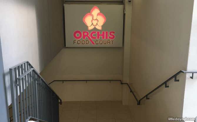 Orchis Food Court, Changi Airport Terminal 1