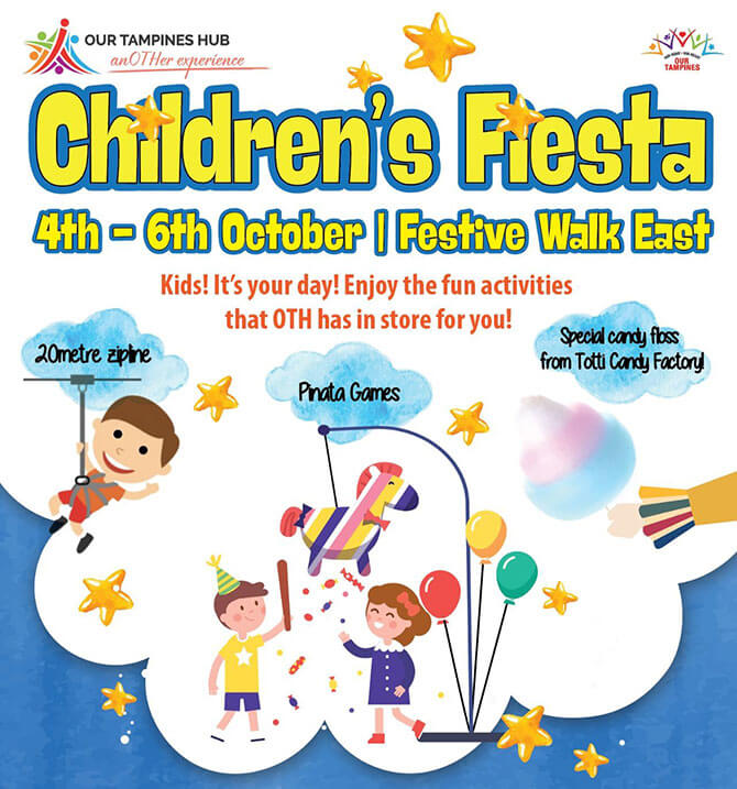 Children's Fiesta at Our Tampines Hub