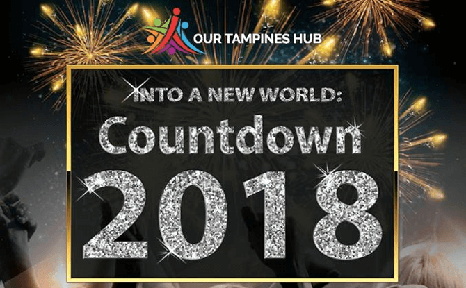 Our Tampines Hub New Year's Eve Countdown 2018