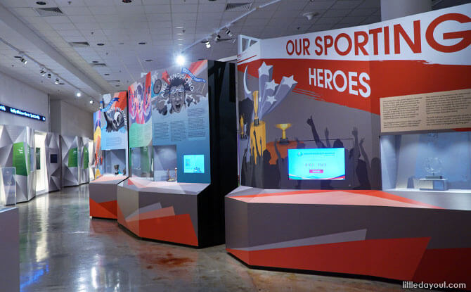Our Sporting Heroes - Singapore Sports Museum
