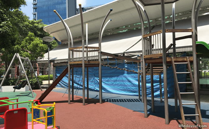 Outdoor eco-playground at City Square Mall