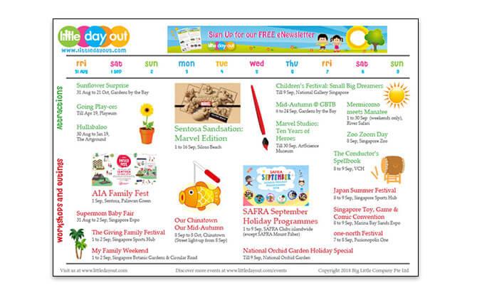 September 2018 School Holiday Guide