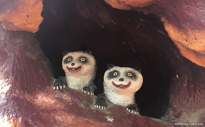 Singapore's first panda pair?