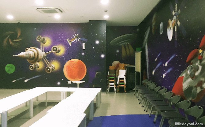 The Galaxy Party Room, Kidz Amaze Indoor Playground Toa Payoh