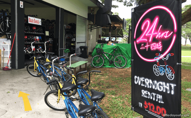 Pasir Ris Bike Rental Guide
