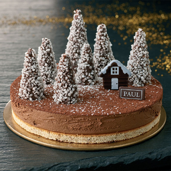 Snow Forest Cake