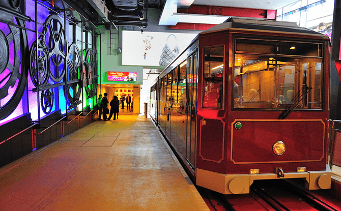 Peak Tram - Things to do on a Hong Kong Family Vacation