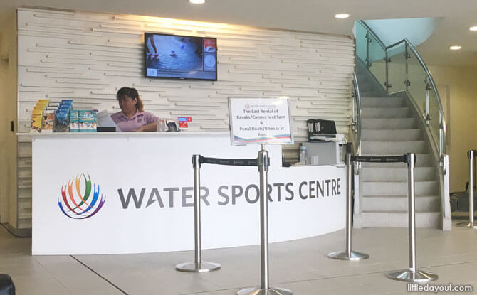 Booking a Pedal Boat in Singapore, Water Sports Centre, Singapore Sports Hub