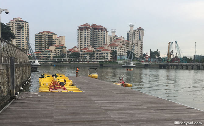 Water Sports Centre Pontoon