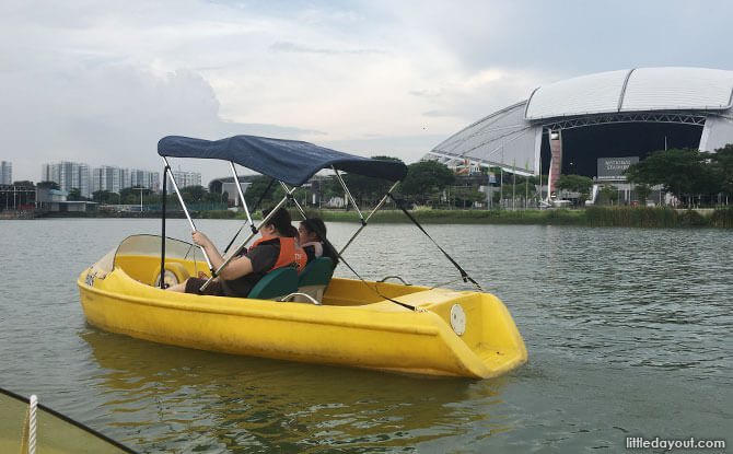 Pedal Boating, Things to Do in Singapore