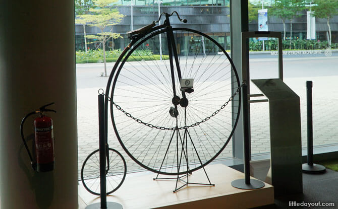 Penny-farthing in Singapore