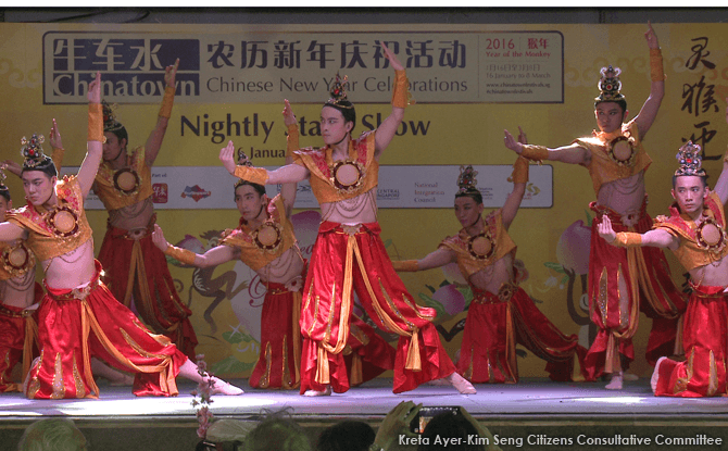 Nightly Stage Shows at Chinatown for Chinese New Year