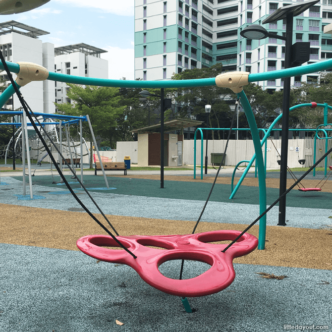 Petal Swing at Canberra Park