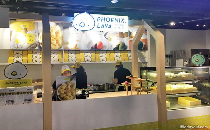 Phoenix Lava Bun Outlet, Raffles MRT