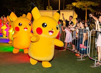 Catch A Pikachu Parade At Pokémon GO Safari Zone Sentosa
