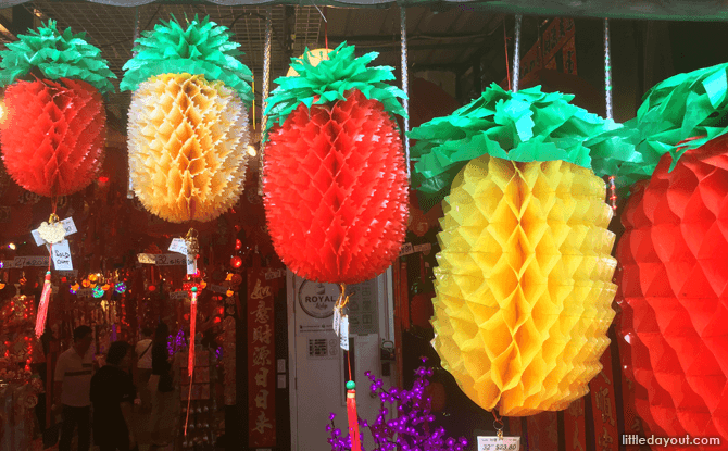 Pineapple Chinese New Year Decorations
