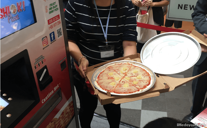Shiok Pizza - Pizza Vending Machine at VendFest